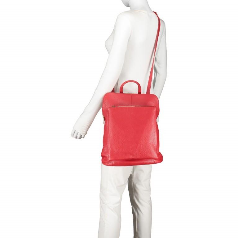 Hausfelder Rucksack Tasche I-DD-232532.D29 Orange, Farbe: orange, Marke: Hausfelder, EAN: 4065646003002, Abmessungen in cm: 29.0x38.0x11.0, Bild 5 von 7