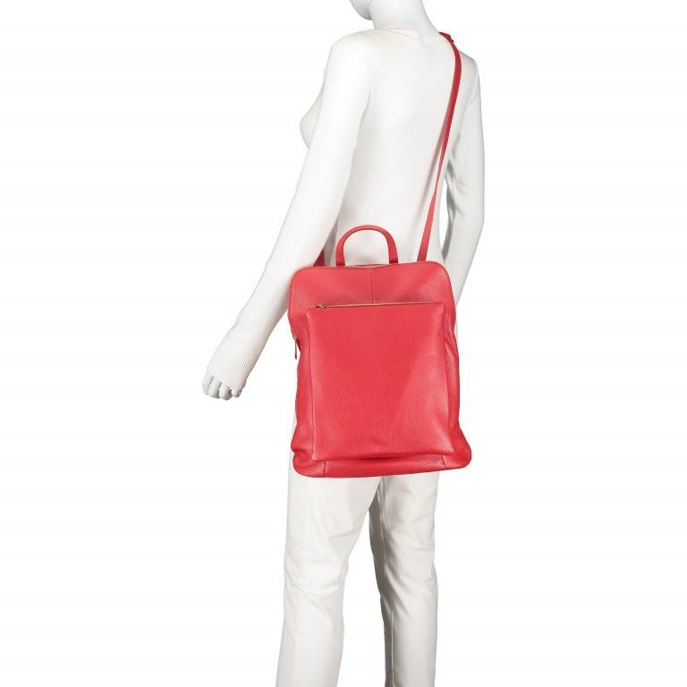 Hausfelder Rucksack Tasche I-DD-232532.D29 Orange, Farbe: orange, Marke: Hausfelder, EAN: 4065646003002, Abmessungen in cm: 29.0x38.0x11.0, Bild 6 von 7