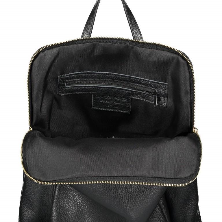 Hausfelder Rucksack Tasche I-DD-232532.D28 Schwarz, Farbe: schwarz, Marke: Hausfelder, EAN: 4065646003040, Abmessungen in cm: 29.0x38.0x11.0, Bild 7 von 7