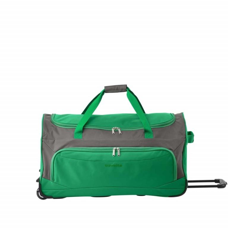 Travelite Rollenreisetasche Garda 72cm Grün, Farbe: grün/oliv, Marke: Travelite, Abmessungen in cm: 72.0x38.0x35.0, Bild 1 von 3