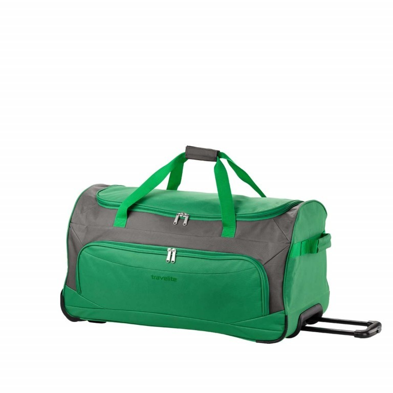 Travelite Rollenreisetasche Garda 72cm Grau, Farbe: grau, Marke: Travelite, Abmessungen in cm: 38.0x72.0x35.0, Bild 2 von 3