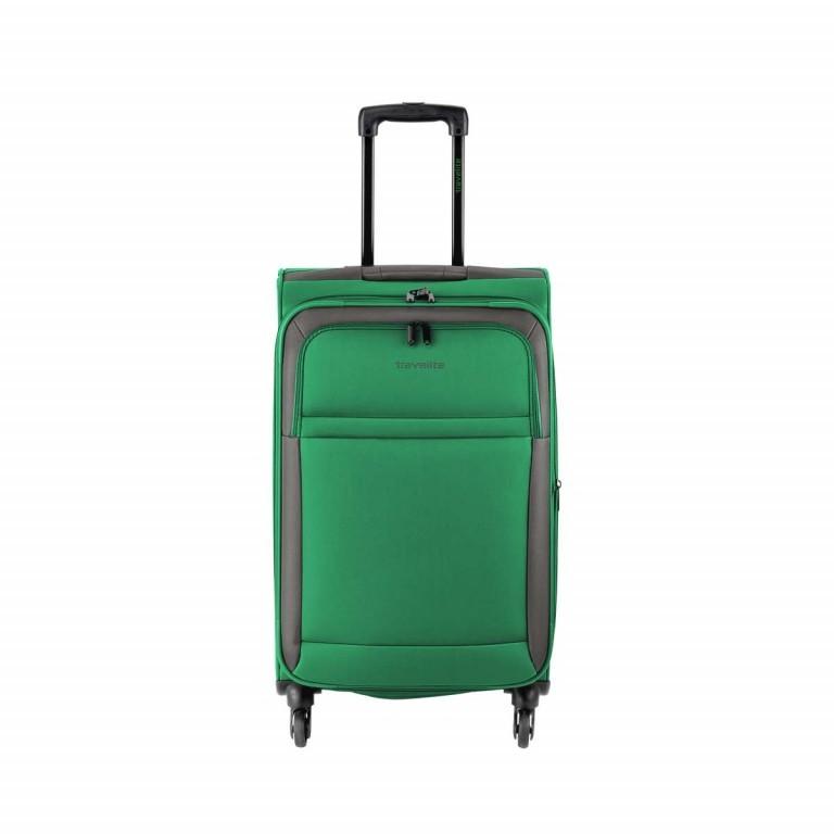 Travelite 4-Rad Trolley Garda M 66cm Grün, Farbe: grün/oliv, Manufacturer: Travelite, Image 1 of 5