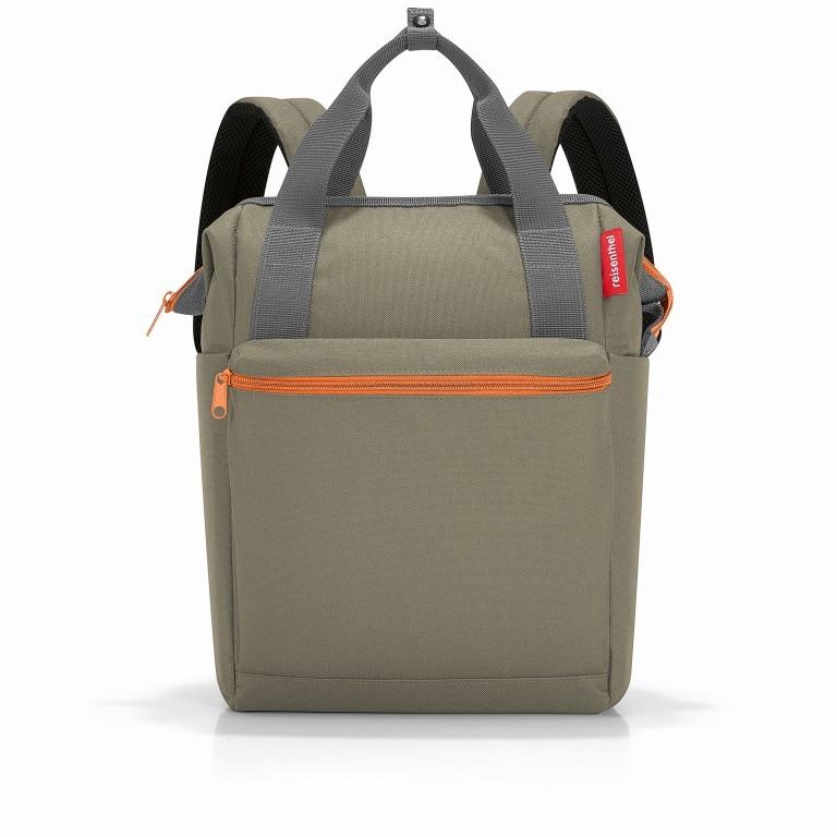 Reisenthel Allrounder R Backpack JR.5043 Olive Green, Farbe: grün/oliv, Marke: Reisenthel, EAN: 4012013719110, Abmessungen in cm: 31.0x39.0x17.0, Bild 1 von 5