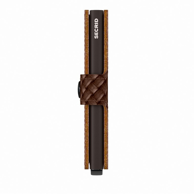 SECRID Miniwallet Basket, Farbe: braun, Marke: Secrid, EAN: 8718215288015, Abmessungen in cm: 6.8x10.2x2.1, Bild 2 von 5