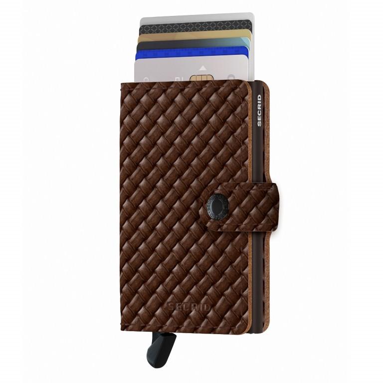 SECRID Miniwallet Basket, Farbe: braun, Marke: Secrid, EAN: 8718215288015, Abmessungen in cm: 6.8x10.2x2.1, Bild 5 von 5