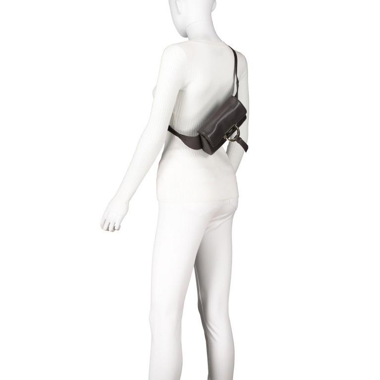 Abro Dalia Kate Gürteltasche 46-029064.53 Dark Brown, Farbe: braun, Marke: Abro, EAN: 4061724463249, Abmessungen in cm: 18.0x12.0x5.0, Bild 5 von 6