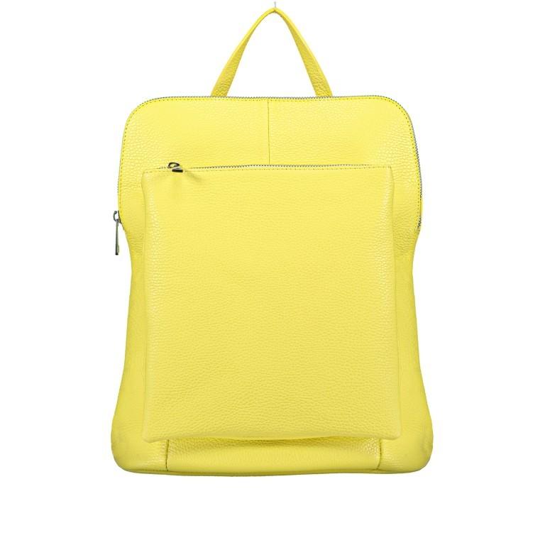 Hausfelder Rucksack Tasche I-DD-232532.D84 Hellgelb, Farbe: gelb, Marke: Hausfelder, EAN: 4065646002968, Abmessungen in cm: 29.0x38.0x11.0, Bild 1 von 9