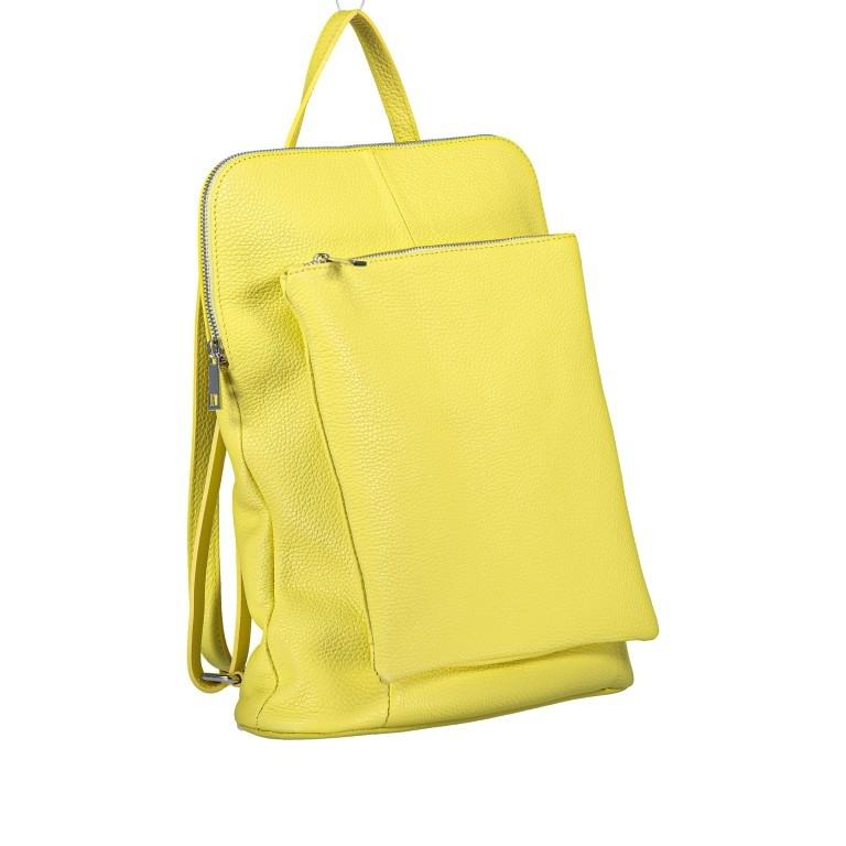 Hausfelder Rucksack Tasche I-DD-232532.D84 Hellgelb, Farbe: gelb, Marke: Hausfelder, EAN: 4065646002968, Abmessungen in cm: 29.0x38.0x11.0, Bild 2 von 9