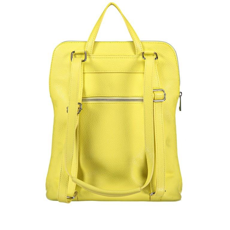 Hausfelder Rucksack Tasche I-DD-232532.D84 Hellgelb, Farbe: gelb, Marke: Hausfelder, EAN: 4065646002968, Abmessungen in cm: 29.0x38.0x11.0, Bild 3 von 9