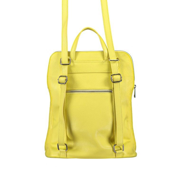 Hausfelder Rucksack Tasche I-DD-232532.D84 Hellgelb, Farbe: gelb, Marke: Hausfelder, EAN: 4065646002968, Abmessungen in cm: 29.0x38.0x11.0, Bild 4 von 9