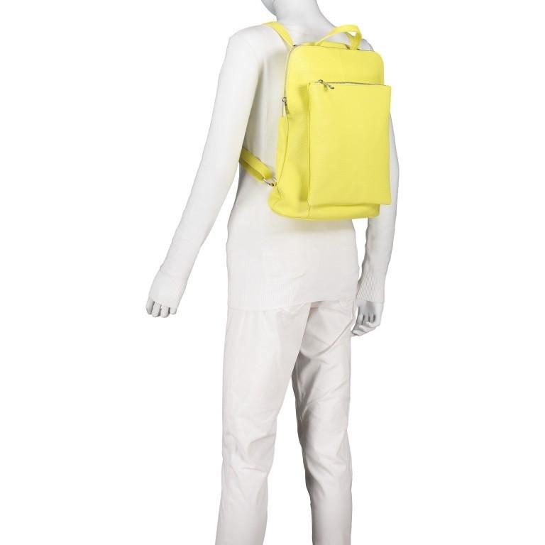 Hausfelder Rucksack Tasche I-DD-232532.D84 Hellgelb, Farbe: gelb, Marke: Hausfelder, EAN: 4065646002968, Abmessungen in cm: 29.0x38.0x11.0, Bild 5 von 9