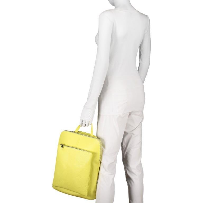 Hausfelder Rucksack Tasche I-DD-232532.D84 Hellgelb, Farbe: gelb, Marke: Hausfelder, EAN: 4065646002968, Abmessungen in cm: 29.0x38.0x11.0, Bild 6 von 9