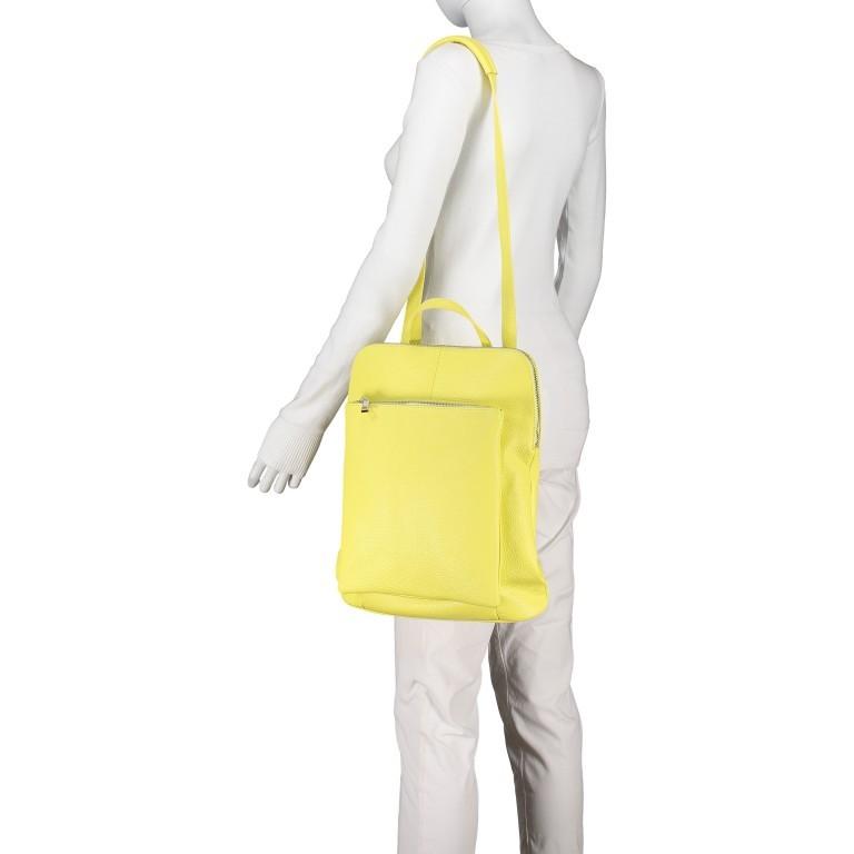 Hausfelder Rucksack Tasche I-DD-232532.D84 Hellgelb, Farbe: gelb, Marke: Hausfelder, EAN: 4065646002968, Abmessungen in cm: 29.0x38.0x11.0, Bild 7 von 9