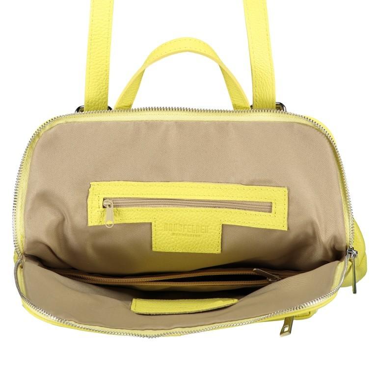 Hausfelder Rucksack Tasche I-DD-232532.D84 Hellgelb, Farbe: gelb, Marke: Hausfelder, EAN: 4065646002968, Abmessungen in cm: 29.0x38.0x11.0, Bild 8 von 9