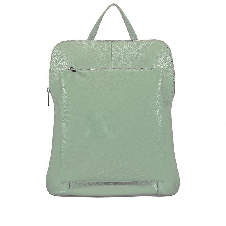 Hausfelder Rucksack Tasche I-DD-232532.D96 Salvia, Farbe: grün/oliv, Marke: Hausfelder, EAN: 4065646002975, Abmessungen in cm: 29.0x38.0x11.0, Bild 1 von 9