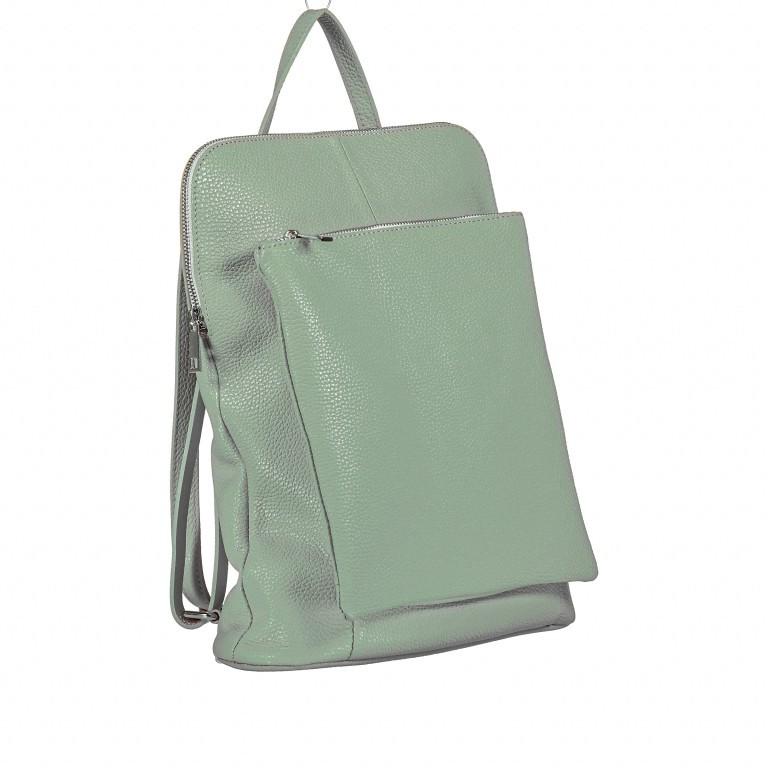 Hausfelder Rucksack Tasche I-DD-232532.D96 Salvia, Farbe: grün/oliv, Marke: Hausfelder, EAN: 4065646002975, Abmessungen in cm: 29.0x38.0x11.0, Bild 2 von 9
