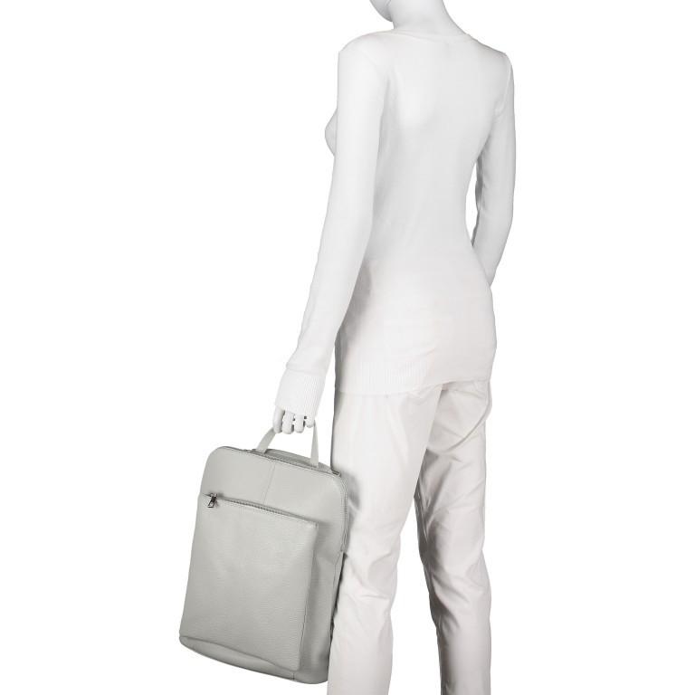 Hausfelder Rucksack Tasche I-DD-232532.D96 Salvia, Farbe: grün/oliv, Marke: Hausfelder, EAN: 4065646002975, Abmessungen in cm: 29.0x38.0x11.0, Bild 6 von 9