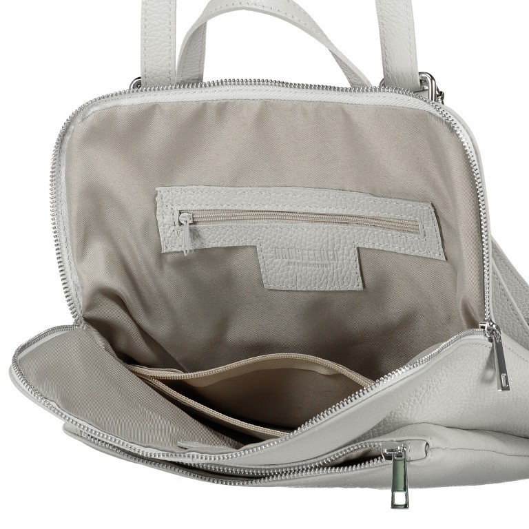 Hausfelder Rucksack Tasche I-DD-232532.D96 Salvia, Farbe: grün/oliv, Marke: Hausfelder, EAN: 4065646002975, Abmessungen in cm: 29.0x38.0x11.0, Bild 9 von 9