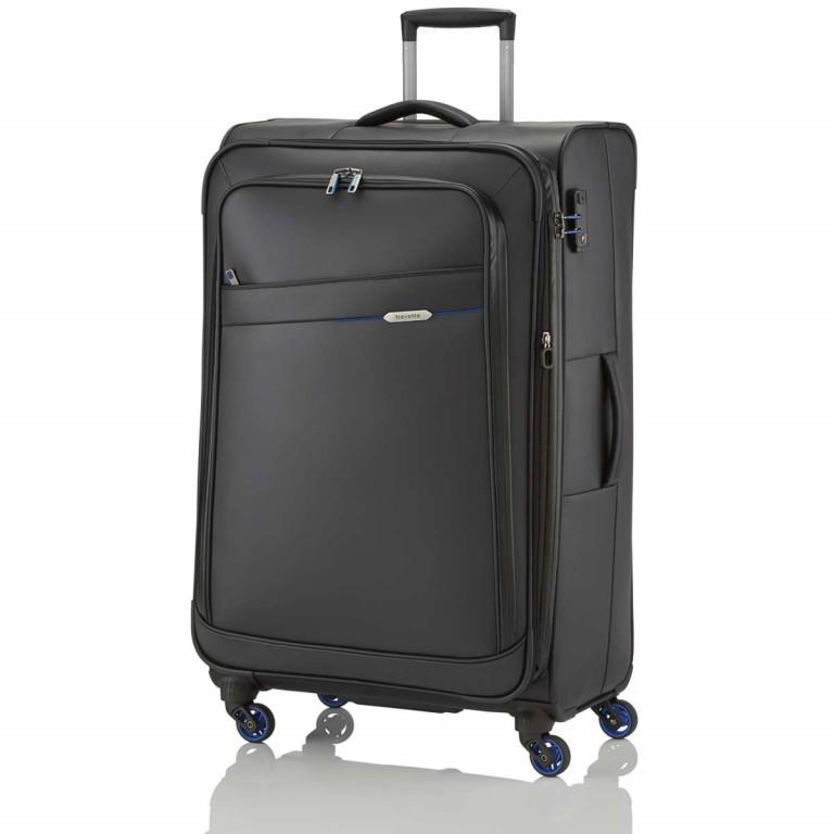 Travelite Scuba Trolley 79cm Schwarz, Farbe: schwarz, Marke: Travelite, Abmessungen in cm: 47.0x79.0x32.0, Bild 2 von 14