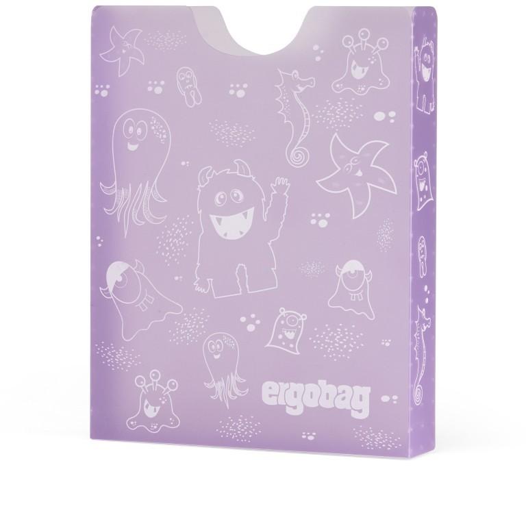 Ergobag Heftebox Lila, Farbe: flieder/lila, Marke: Ergobag, EAN: 4057081079513, Abmessungen in cm: 24.0x31.0x5.0, Bild 1 von 1