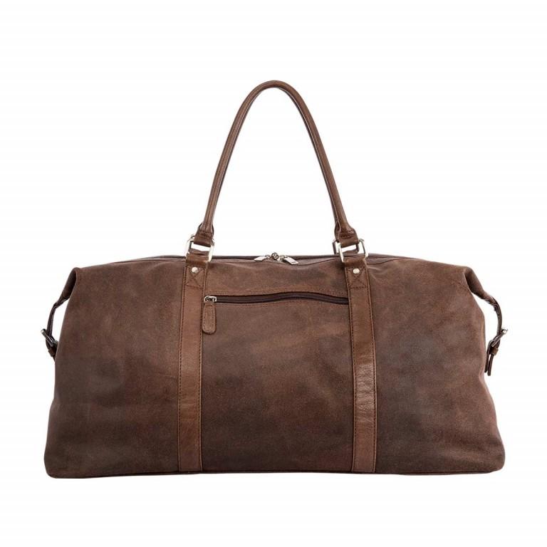 LOUBS Reisetasche Leder Braun, Farbe: braun, Marke: Loubs, Abmessungen in cm: 620.0x26.0x32.0, Bild 1 von 4