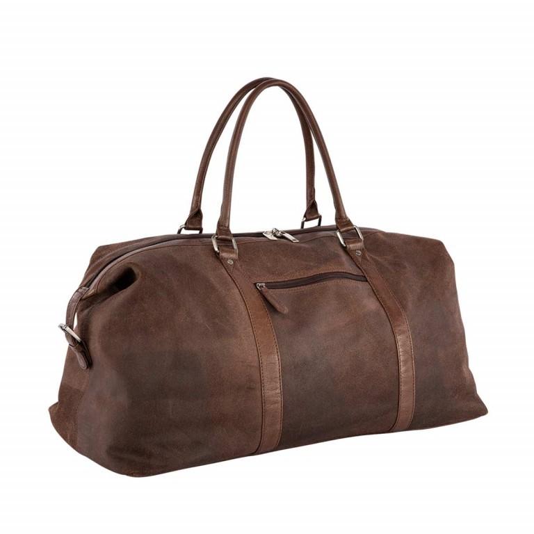 LOUBS Reisetasche Leder Braun, Farbe: braun, Marke: Loubs, Abmessungen in cm: 620.0x26.0x32.0, Bild 2 von 4