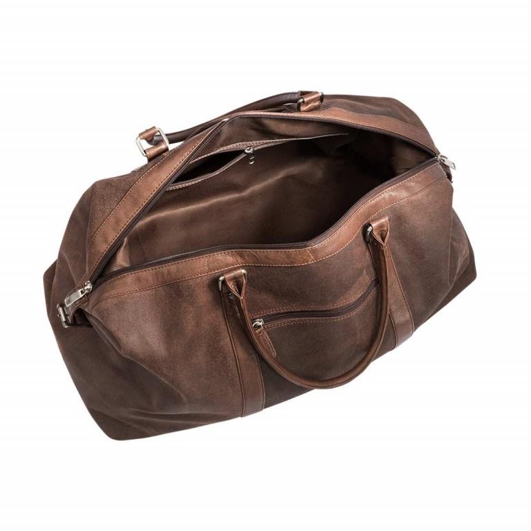 LOUBS Reisetasche Leder Braun, Farbe: braun, Marke: Loubs, Abmessungen in cm: 620.0x26.0x32.0, Bild 3 von 4
