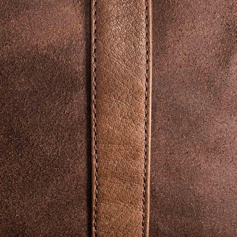 LOUBS Reisetasche Leder Braun, Farbe: braun, Marke: Loubs, Abmessungen in cm: 620.0x26.0x32.0, Bild 4 von 4