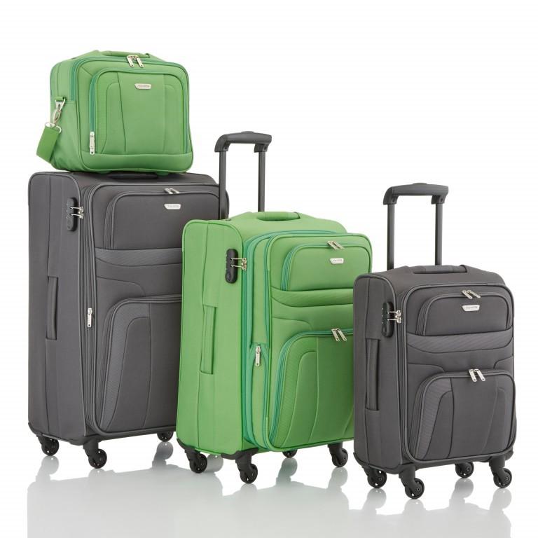 Travelite Orlando Trolley L Grün, Farbe: grün/oliv, Marke: Travelite, Abmessungen in cm: 47.0x75.0x26.0, Bild 4 von 4