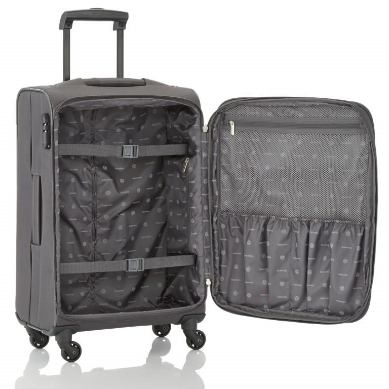 Travelite Orlando Trolley L Schwarz, Farbe: schwarz, Marke: Travelite, Abmessungen in cm: 47.0x75.0x26.0, Bild 3 von 4