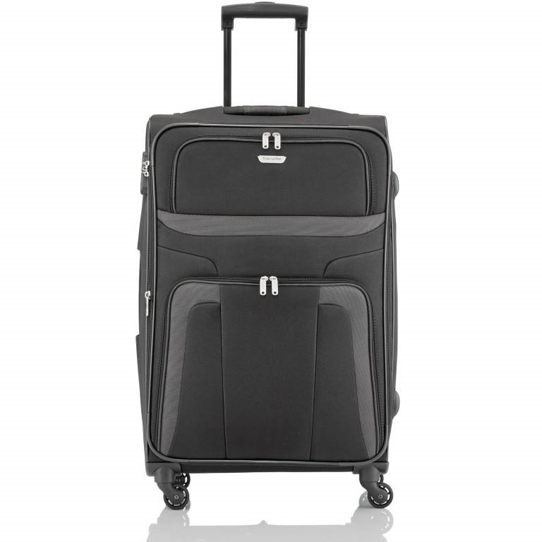 Travelite Orlando Trolley L Schwarz, Farbe: schwarz, Marke: Travelite, Abmessungen in cm: 47.0x75.0x26.0, Bild 1 von 4