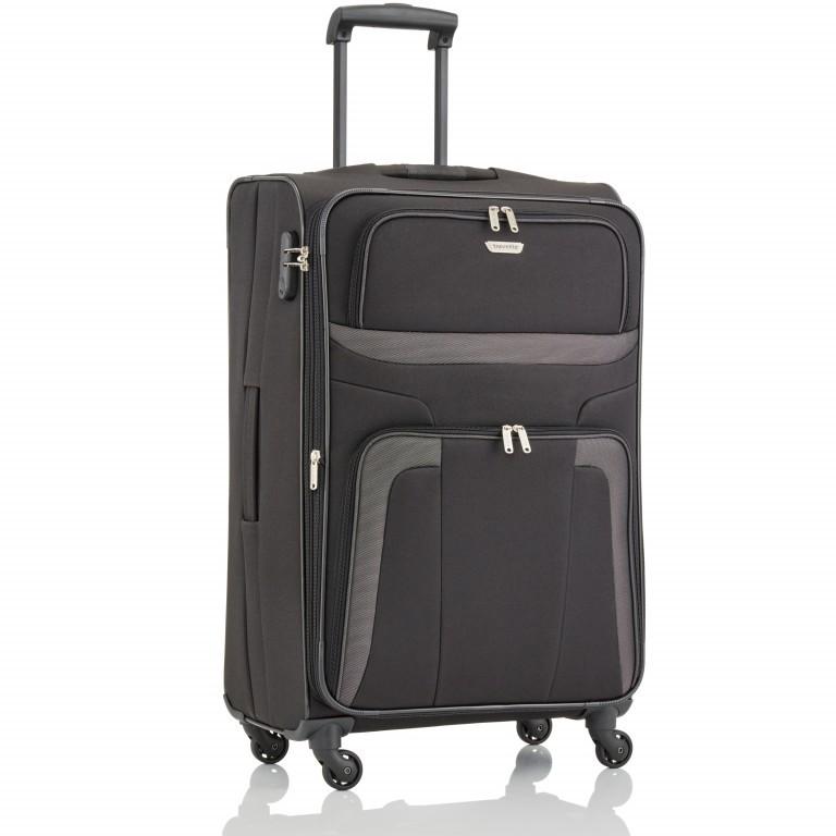 Travelite Orlando Trolley L Schwarz, Farbe: schwarz, Marke: Travelite, Abmessungen in cm: 47.0x75.0x26.0, Bild 2 von 4