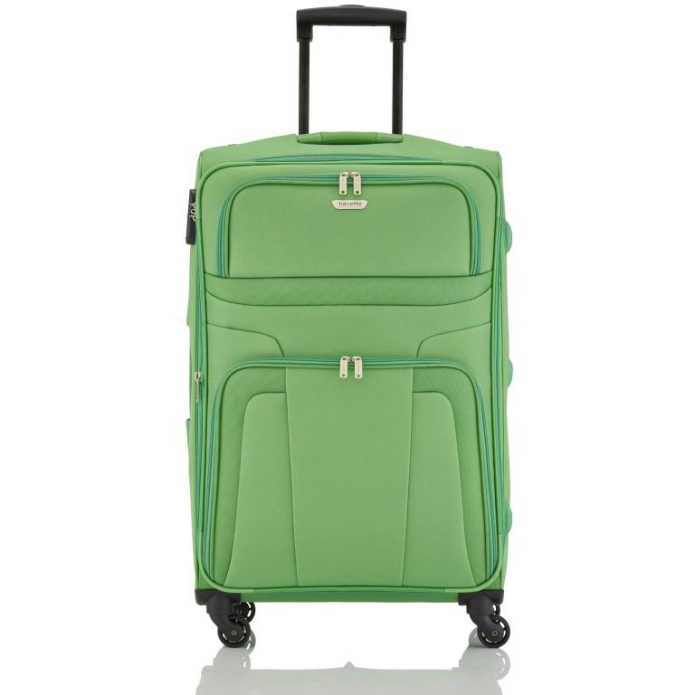Travelite Orlando Trolley L Grün, Farbe: grün/oliv, Marke: Travelite, Abmessungen in cm: 47.0x75.0x26.0, Bild 1 von 4