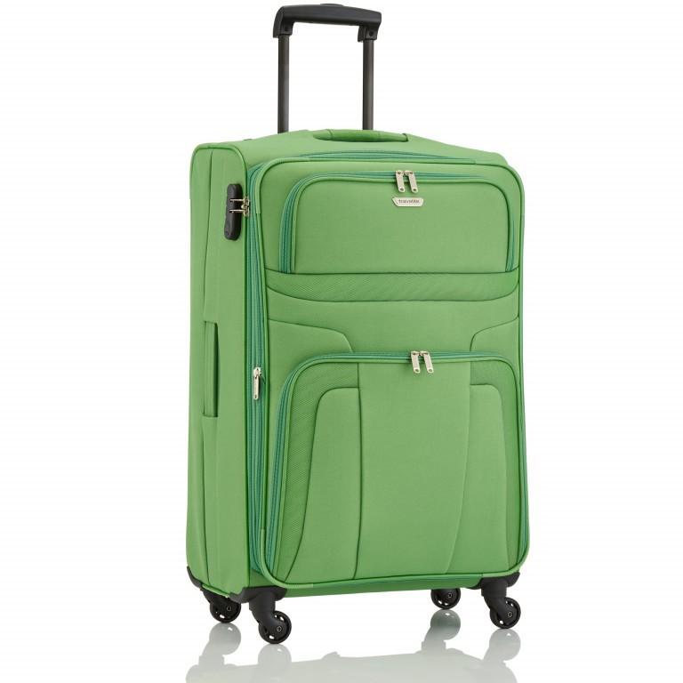 Travelite Orlando Trolley L Grün, Farbe: grün/oliv, Marke: Travelite, Abmessungen in cm: 47.0x75.0x26.0, Bild 2 von 4