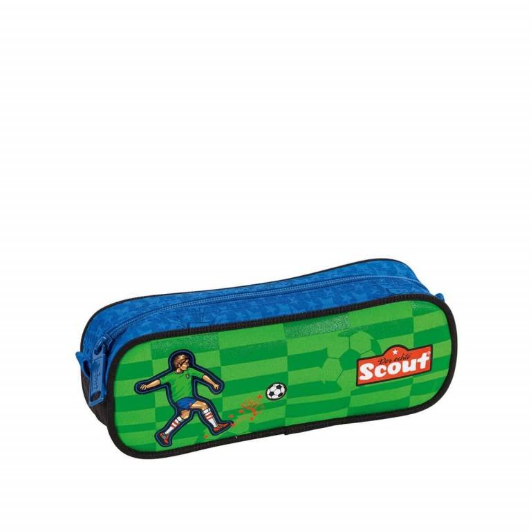 Scout Sunny Schulranzen-Set 4-tlg. Street Soccer, Farbe: grün/oliv, Marke: Scout, Abmessungen in cm: 30.0x39.0x20.0, Bild 7 von 8
