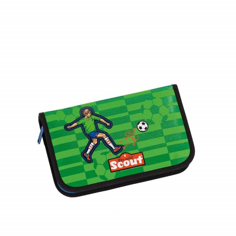 Scout Sunny Schulranzen-Set 4-tlg. Street Soccer, Farbe: grün/oliv, Marke: Scout, Abmessungen in cm: 30.0x39.0x20.0, Bild 5 von 8