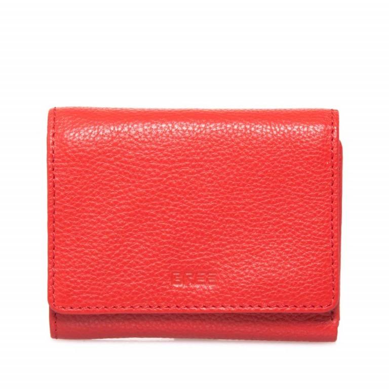 BREE Sofia 106 Börse Leder Rot, Farbe: rot/weinrot, Marke: Bree, Abmessungen in cm: 13.0x10.0x2.0, Bild 2 von 2