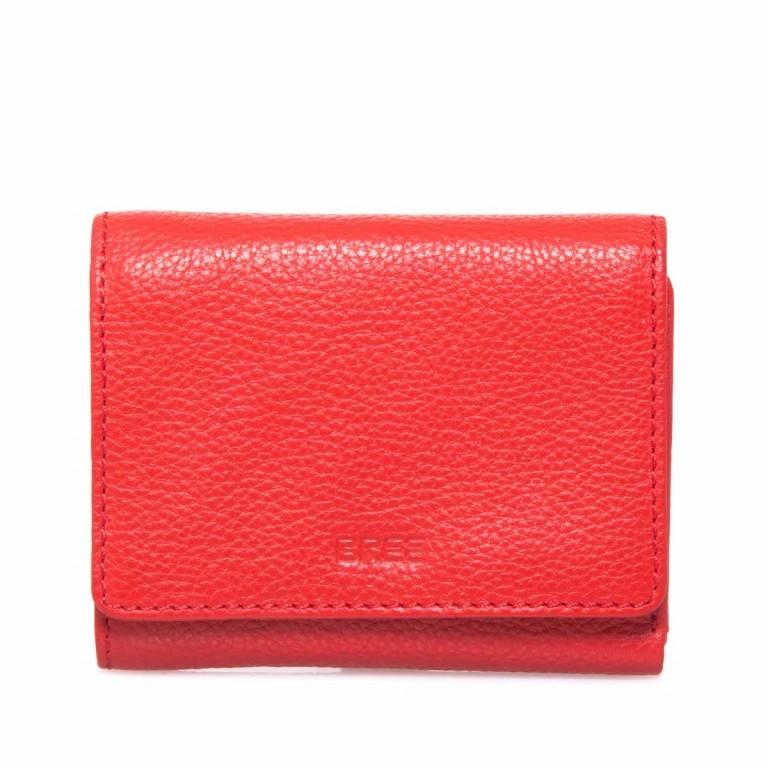 BREE Sofia 106 Börse Leder Rot, Farbe: rot/weinrot, Marke: Bree, Abmessungen in cm: 13.0x10.0x2.0, Bild 1 von 2