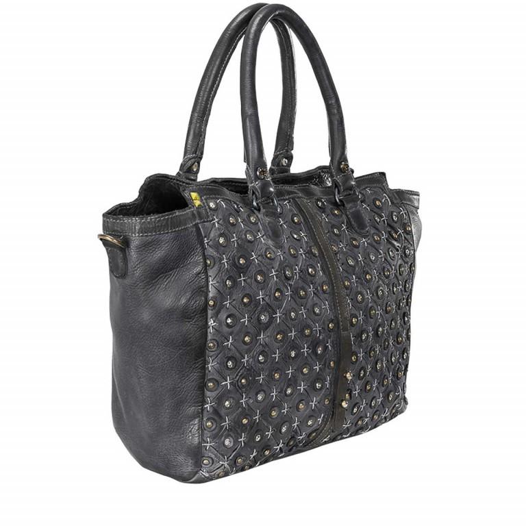 Desiderius Clavus Afra Shopper Leder Schwarz, Farbe: schwarz, Marke: Desiderius, Bild 2 von 3