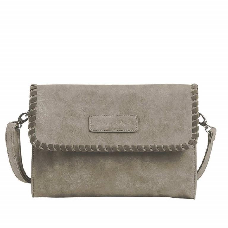 Fritzi aus Preußen Vintage Alessia Tasche Synthetik Pebble, Farbe: grau, Marke: Fritzi aus Preußen, Abmessungen in cm: 27.0x19.0x5.0, Bild 1 von 3