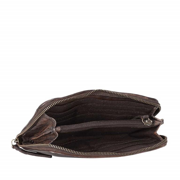 Desiderius Ailine Alma Flachbörse Dark Brown, Farbe: braun, Marke: Desiderius, Abmessungen in cm: 20.0x12.0x2.5, Bild 3 von 4