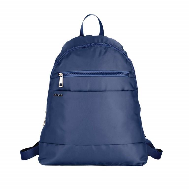 Loubs City Rucksack Nylon Blau, Farbe: blau/petrol, Marke: Loubs, Abmessungen in cm: 33.0x36.0x8.0, Bild 1 von 3