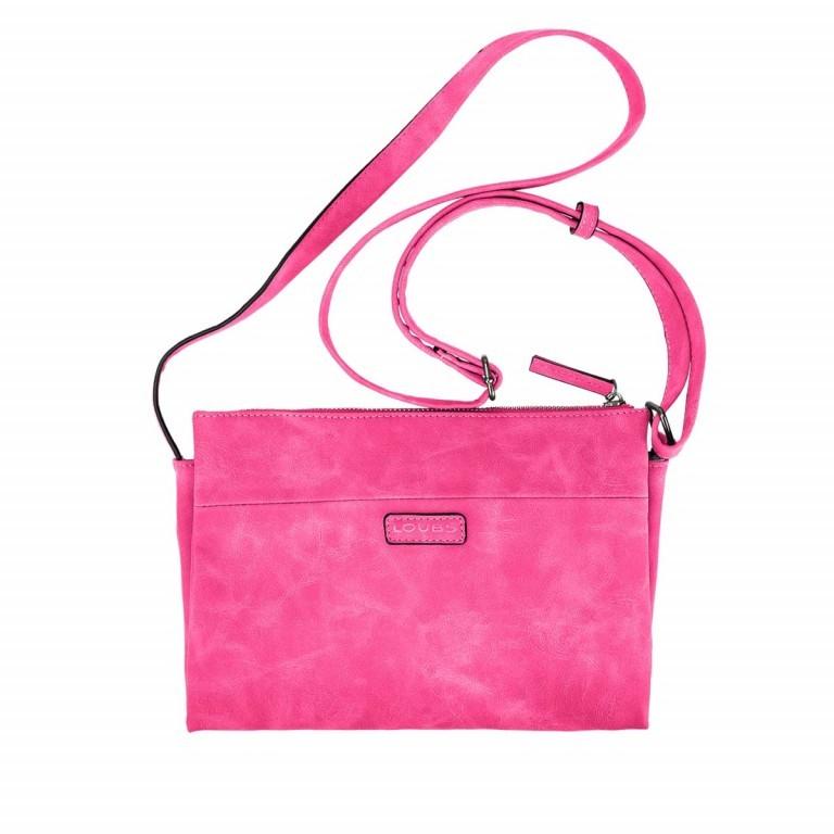 Loubs Drei-Fächer-Crossbag Pink, Farbe: rosa/pink, Marke: Loubs, Abmessungen in cm: 27.0x19.0x5.0, Bild 1 von 3