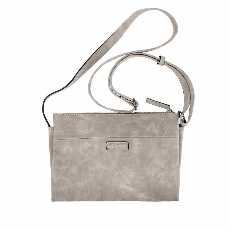 Loubs Drei-Fächer-Crossbag Grau, Farbe: grau, Marke: Loubs, Abmessungen in cm: 27.0x19.0x5.0, Bild 1 von 3