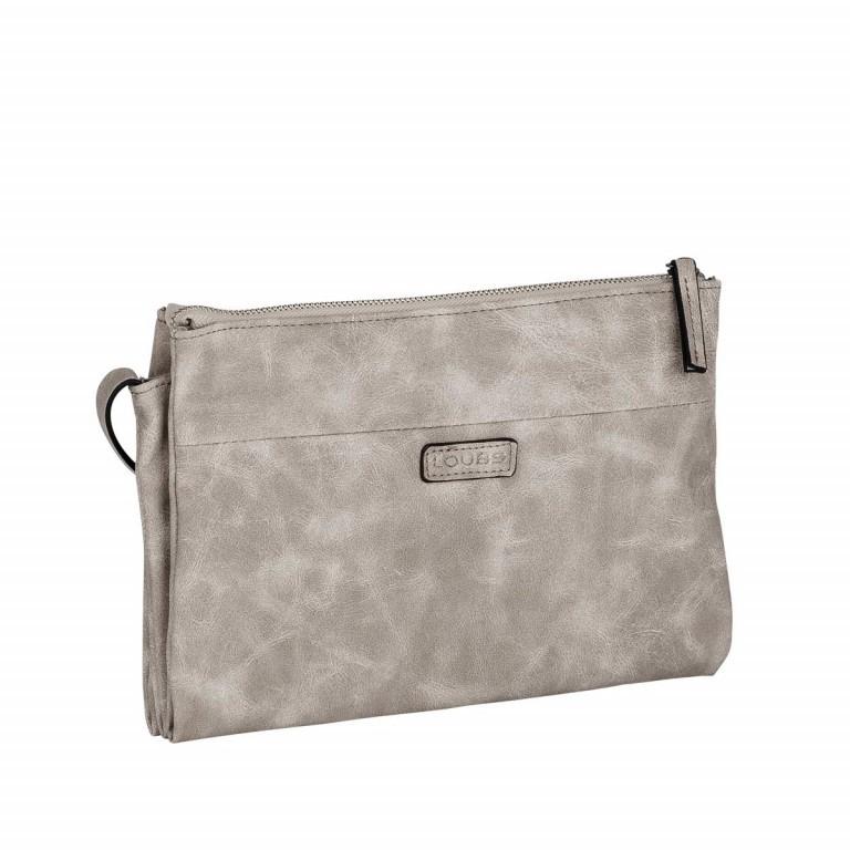Loubs Drei-Fächer-Crossbag Grau, Farbe: grau, Marke: Loubs, Abmessungen in cm: 27.0x19.0x5.0, Bild 2 von 3