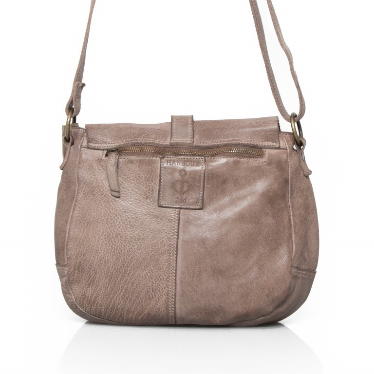 HARBOUR2nd Saddle Bag Nauja Stone Grey, Farbe: grau, Marke: Harbour 2nd, Abmessungen in cm: 29.0x28.0x11.0, Bild 3 von 5