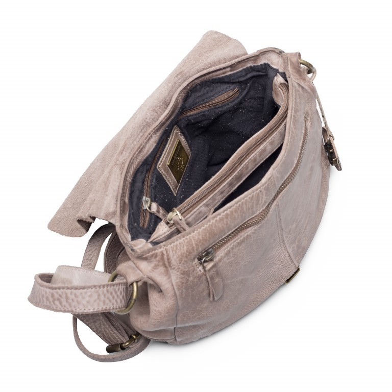 HARBOUR2nd Saddle Bag Nauja Stone Grey, Farbe: grau, Marke: Harbour 2nd, Abmessungen in cm: 29.0x28.0x11.0, Bild 4 von 5