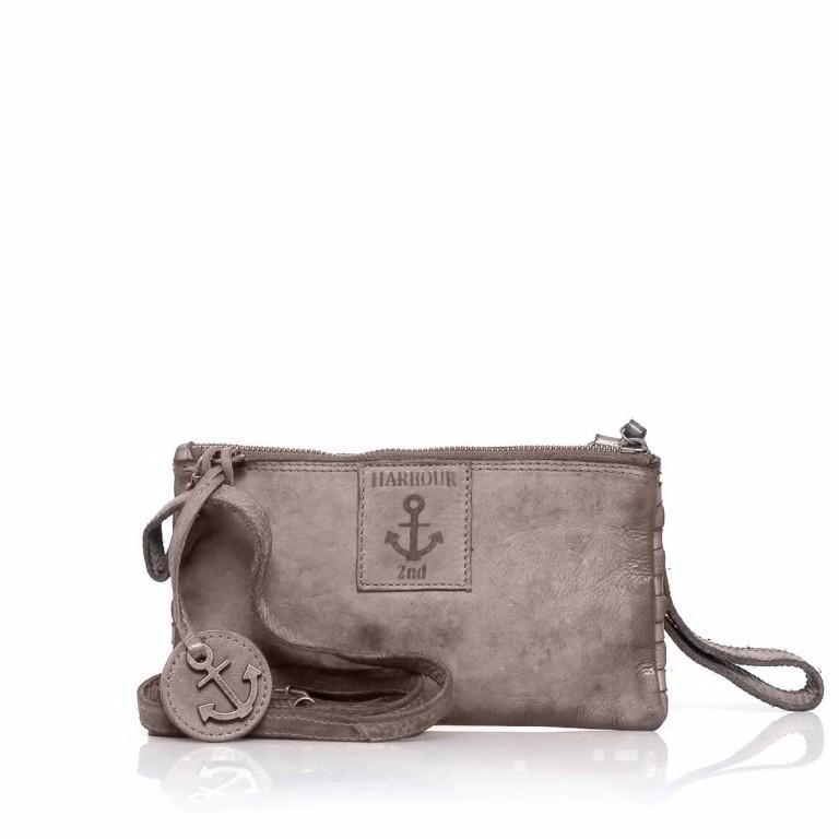 HARBOUR2nd Clutch Lillen Stone Grey, Farbe: grau, Marke: Harbour 2nd, Abmessungen in cm: 23.0x13.0x2.0, Bild 2 von 3