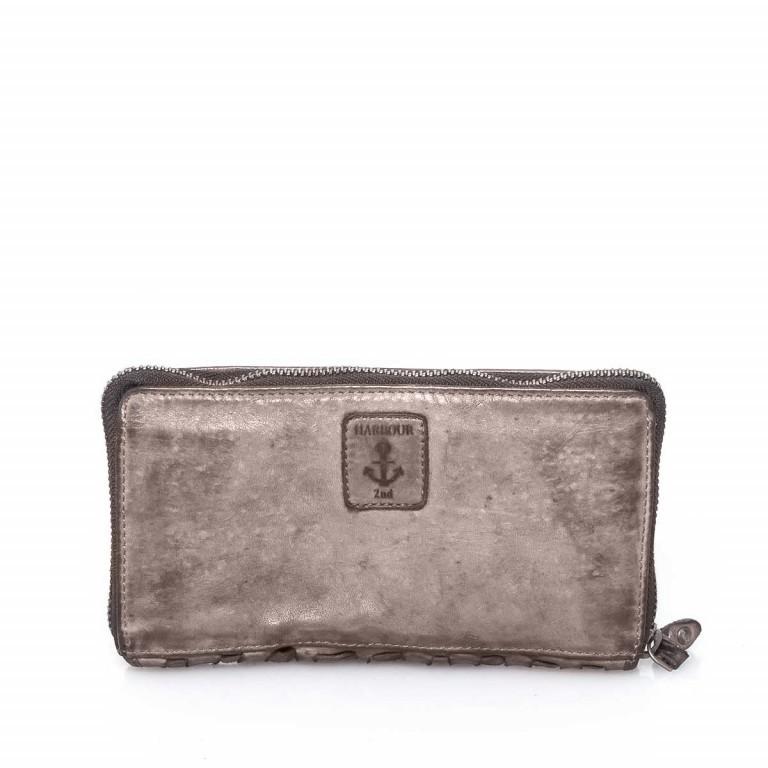 HARBOUR2nd Langbörse Penelope Stone Grey, Farbe: grau, Marke: Harbour 2nd, Abmessungen in cm: 18.5x10.0x2.5, Bild 3 von 3