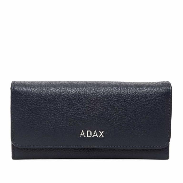 Adax Cormorano 447092 Große Börse Blue, Farbe: blau/petrol, Marke: Adax, EAN: 5705483171203, Abmessungen in cm: 19.0x9.0x3.0, Bild 1 von 3